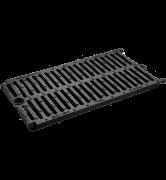 grille de caniveau chaînable FIXOVAL D400 fonte