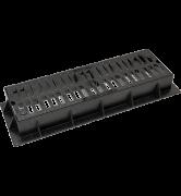 grille plate 710 avec cadre fonte de caniveau en fonte GS C250