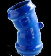 raccord fonte Coude à joint automatique un seizième 1/16 pour tuyaux PVC rigide