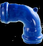 raccord fonte Coude à joint automatique un quart 1/4 pour tuyaux PVC rigide