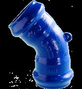raccord fonte Coude à joint automatique un huitième 1/8 pour tuyaux PVC rigide