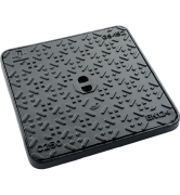 REGARD N°152 carré à fermeture hydraulique fonte C250