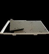 Trappes classiques type PC Classe D400 tampon fonte cadre acier