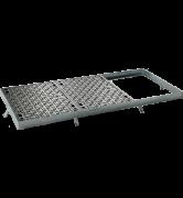 TRAPPES CLASSIQUES type LT Classe C250 tampon fonte cadre acier