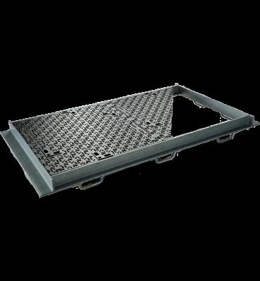 TRAPPES CLASSIQUES type KC Classe D400 tampon fonte cadre acier