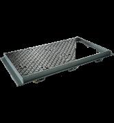 TRAPPES CLASSIQUES type KC Classe D400 NF-362 tampon fonte cadre acier