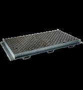 TRAPPES VERROUILLÉES type KCV Classe D400 tampon fonte cadre acier