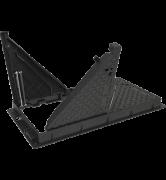 TRAPPES type KCVAA D400 cadre fonte VERROUILLÉES ARTICULÉES ASSISTÉES tampon et cadre fonte