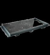 TRAPPES CLASSIQUES type KE Classe E600 tampon fonte cadre acier