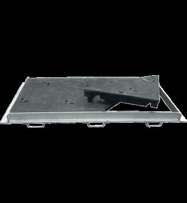 TRAPPES VERROUILLÉES type KEV Classe E600 tampon fonte cadre acier