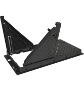 TRAPPES type KEVAA E600 cadre fonte VERROUILLÉES ARTICULÉES ASSISTÉES tampon fonte