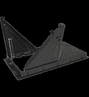TRAPPES type KFVAA F900 cadre fonte VERROUILLÉES ARTICULÉES ASSISTÉES tampon fonte