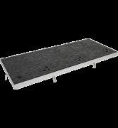 TRAPPES CLASSIQUES ELLIPSE type LT Classe C250 tampon fonte cadre acier