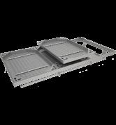 TRAPPE À REMPLIR type PTR C250 à grille anti-chute tampon acier cadre acier grille acier