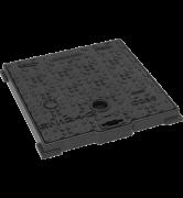 REGARD HYDR'O carré à fermeture hydraulique fonte C250